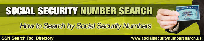 social security number search header